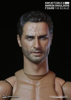 1/6 Male Body with Carackter Head