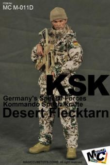 KSK in Flecktern Wüste