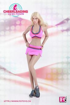Cheerleader Suit onesix Clothes Set 1/6