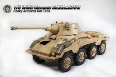 Sd.Kfz.234-2 (DAK) PUMA 1/6 Metal