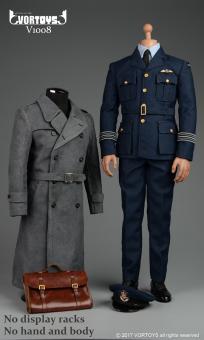 1/6 WWII RAF Pilot Uniform Set