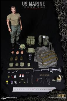 U.S.MARINE (TET OFFENSIVE,1968 Machine Gunner