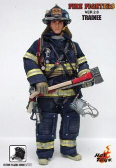 FIRE FIGHTHER TRINEE, HOT TOYS FEUERWEHR LIMITED EDITION
