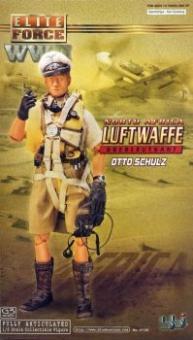 Otto Schulz- Luftwaffe Pilot - Oberleutnant