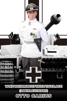 "Wehrmacht Heer Tiger Ace ""Otto Carius"" Summer Version"