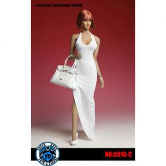 Female Sexy Dress Set (White) 1/6