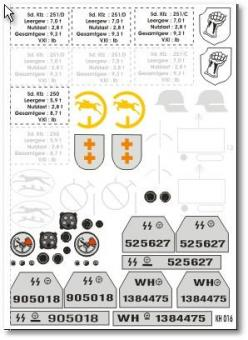 1:6 Decal,SDKFZ
