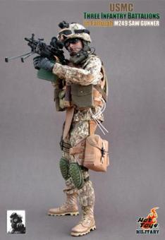 USMC Three Infantry Battalions in Fallujah - M249 SAW GUNNER