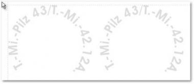 1:6 Decal Tellermine Beschriftung für Panzermine 43