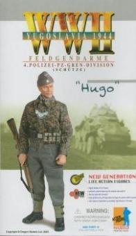 """Hugo, Division """"Das Reich"""" - Panzer Unteroffizier - Scharführer"""