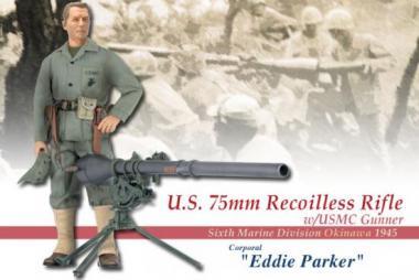 Eddie Parker, Okinawa 45 - 6. Marine Division - 75mm Recoilless Rifle