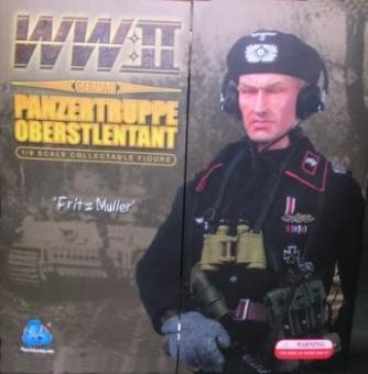 Fritz Müller ,Panzertruppe Oberstleutnant