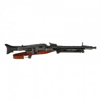 MG 42 in 1/6 mit Lederriemen