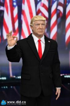 Donald Trump als Figur im Maßstab 1:6