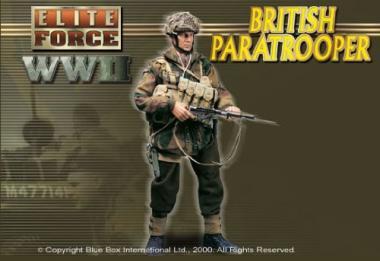 WWII British Paratrooper Sergeant - Neil Williams - 1/6 Scale