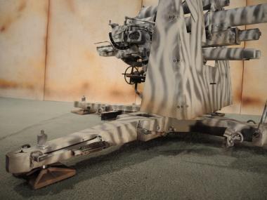 88 Flak in Metal Einzelstück 1/6 Wintertarn