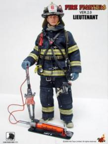 John Travolta, Fire Fighter - Lieutenant HOT TOYS, LIMITED EDITION