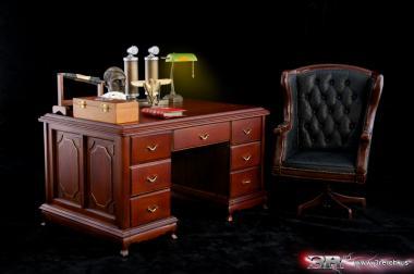 Schreibtisch mit  Zubehör Set