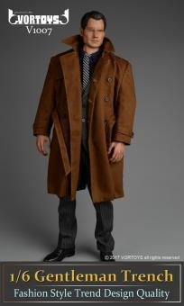 Gentleman Trench Coat Set