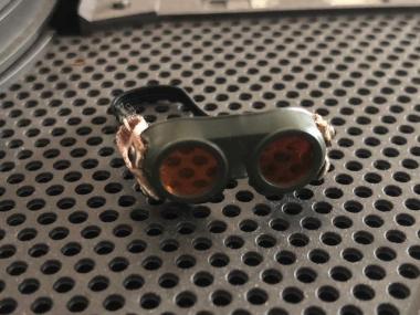 Staubschutzbrille U Boot