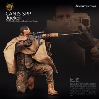Jackal 1/12 Fully articulated