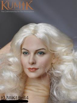 Kumik Blond Head sculp 1/6 KM18-44