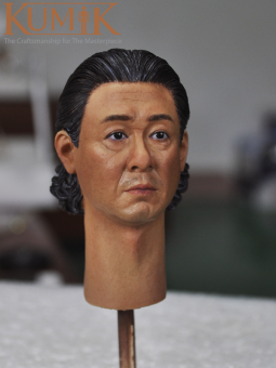 Kumik Male Head Asian Middleage