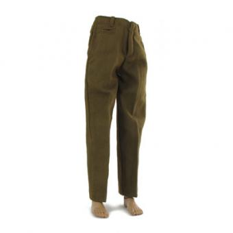 M-1943 US Army Wool Trousers (Brown) 1/6