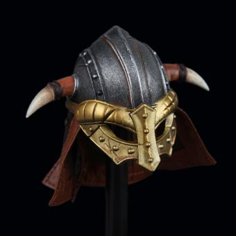 Metal Viking Larp Helm in Metal 1/6