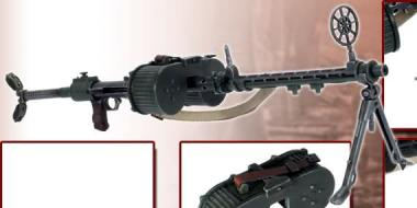 MG15 mit Doppel-Trommelmagazin