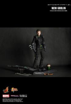 Spiderman 3 Hot Toys Movie Masterpiece 1/6 Scale Collectible Figure New Goblin