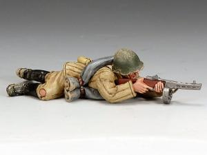 Russian Ost-Front: Red Army Soldier Lying Prone