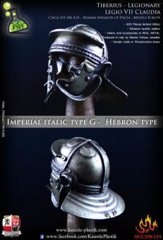 Helmet - Imperial Italic type G with Magnetic Plug (Hebron Type)