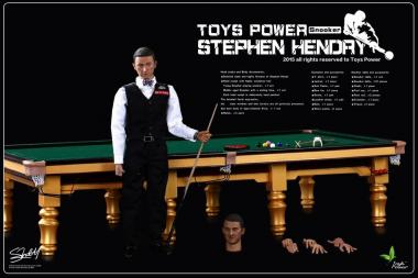 Snooker Table and Stephen Handay