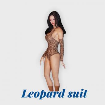 1/6 Schwimsuit (Leopard) mit Ärmlinge