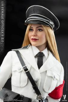 1/6 Female SS Officer (White Versionohne Kopf und Verpackung)