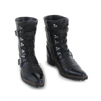 Cowboy Style Boots Black
