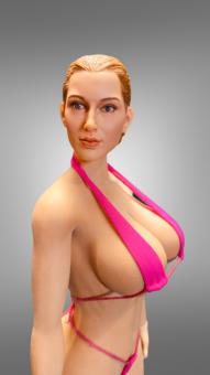 Kumik Kopf mit passenden Körper Large Breast 1/6