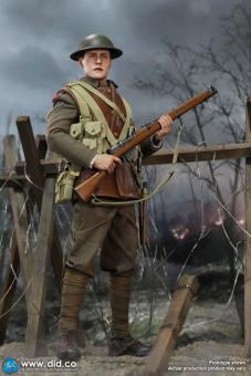 William - British Infantry Lance Corporal - WW I - 1/6 scale