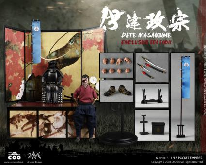 1/12 PALM EMPIRES - DATE MASAMUNE (EXCLUSIVE EDITION)