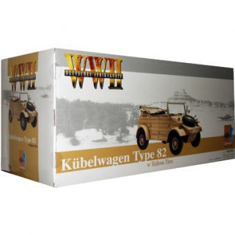 Kübelwagen Original DAK - Version mit Ballongreifen