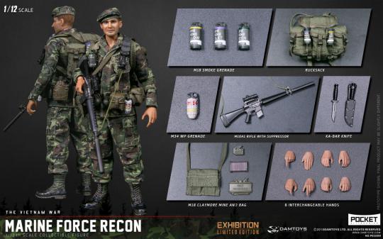1/12 Marine Force Recon in Vietnam
