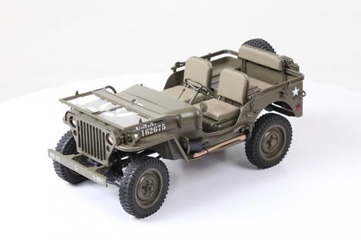RC Jeep Willys MB ROCHOBBY 1941 MB SCALER mit Accu  1/6