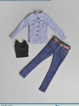 1/6 Casual Outfit Blue Jean