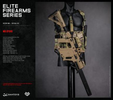1/6 Elite Firearms Series 3 - Vector SMG Tactical Set (Coyote)