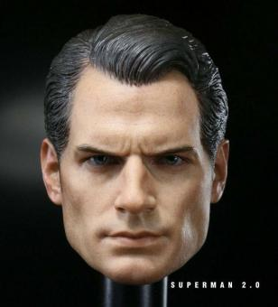 1/6 Scale Superguy Headsculpt