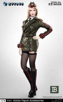 1/6 Sexy Military Uniform Set (Olive Drab)