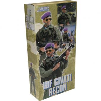 Armoury Action Figure - Euro Force - ISRAEL DEFENSE FORCES Recon