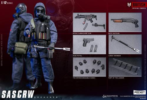 SAS CRW Breacher  1/12 Fully articulated