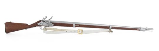 Model Charleville 1777 , 1/6 Metal Holz